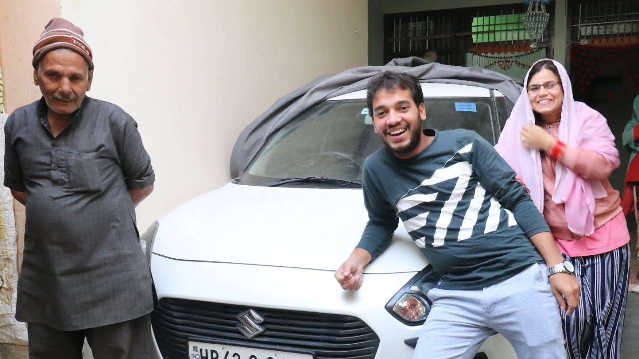 Car From Youtube Money For Neha ? Uncut Vlog Shoot By Basant Jangra With Fun