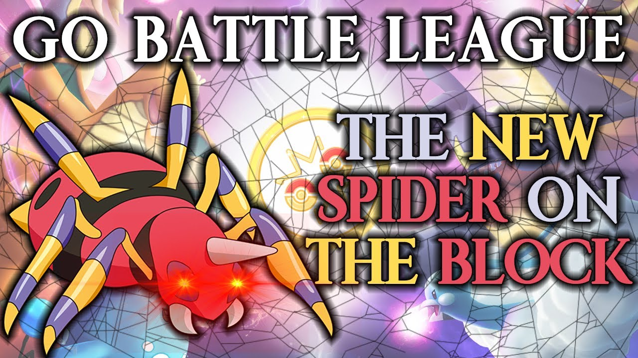 GO Battle League: TRIPLE BUFFED SPIDER! (Great League)