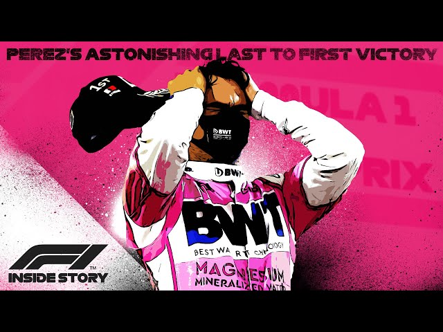 INSIDE STORY: Sergio Perez's Astonishing Last To First Victory