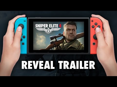 Sniper Elite 4 - Switch Announce Trailer