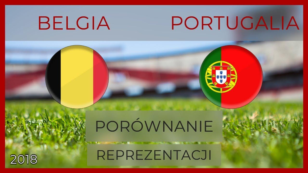 cb023ffeb BELGIA - PORTUGALIA | Porównanie reprezentacji piłkarskich | 02.06.2018  [MECZ]