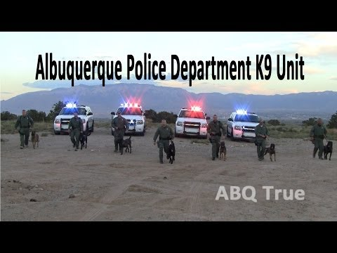 ABQ TRUE   Albuquerque Police Department K9 Unit Ride Along