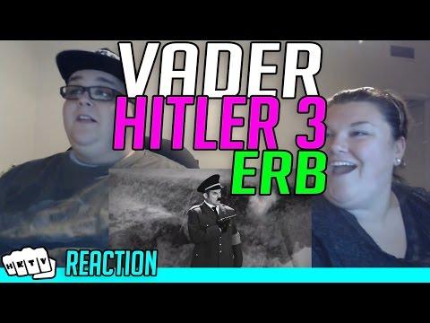 VADER VS HITLER 3 ERB REACTION!!🔥