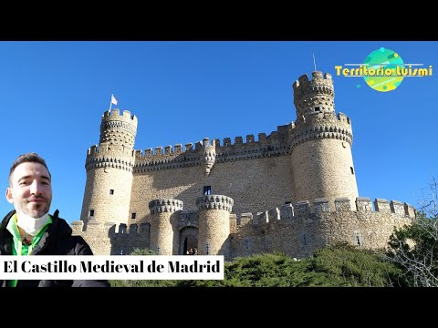 CASTILLO MEDIEVAL DE MADRID 🏰 - Castillo MANZANARES EL REAL