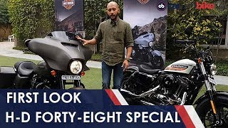 Harley-Davidson Forty-Eight Special First Look   NDTV carandbike
