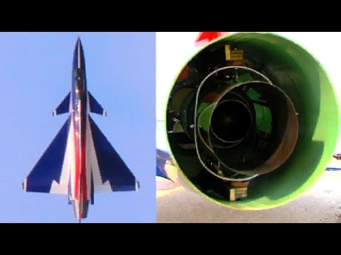3D RC Turbine jet Chengdu J-10 from comp ARF
