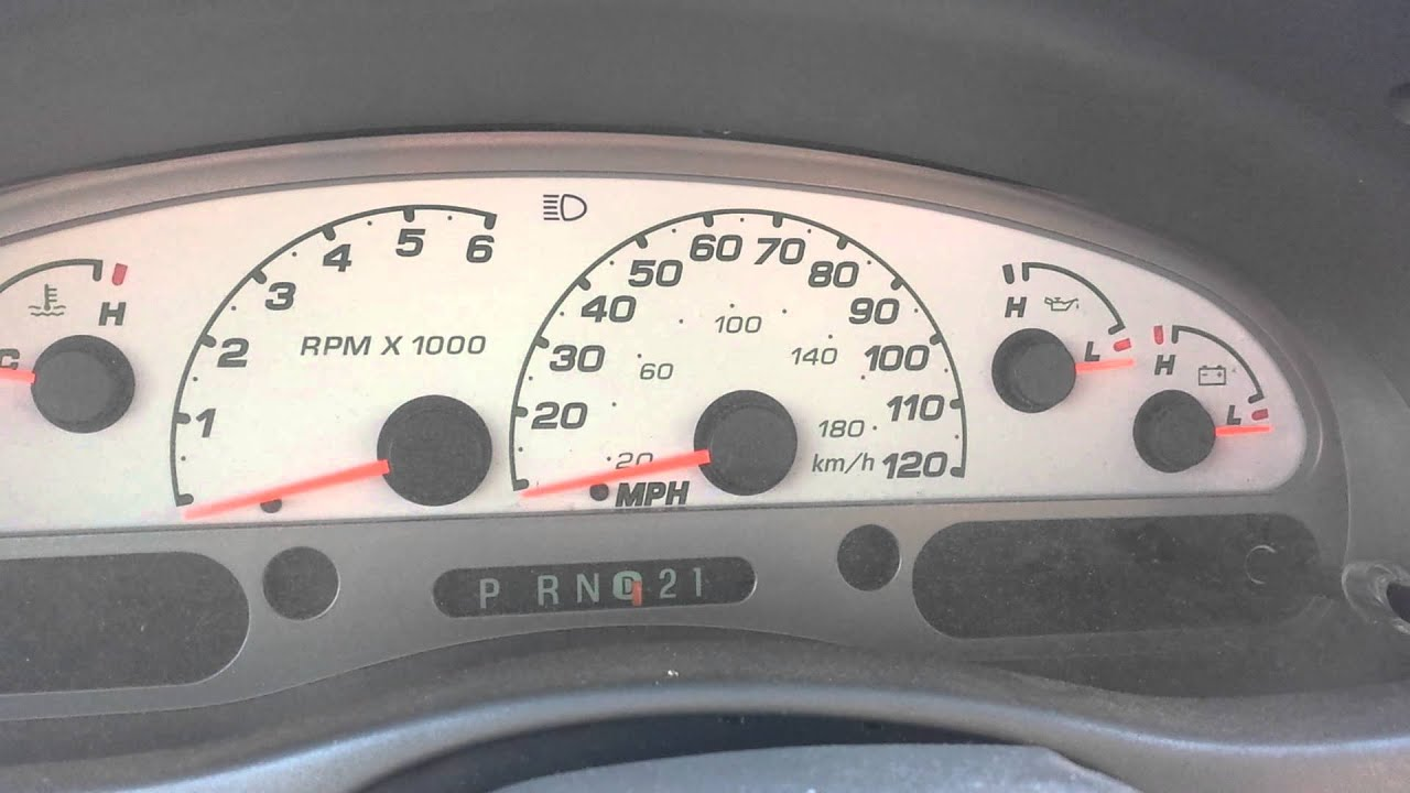 My 2005 Ford Explorer Sport Trac Gauge Cluster Problem  YouTube