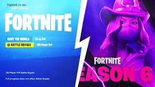 🔴 OFFICIAL SEASON 6 COUNTDOWN // NEW LEAKS FOR SEASON 6 (LIVE RIGHT NOW) // Fortnite Battle Royale