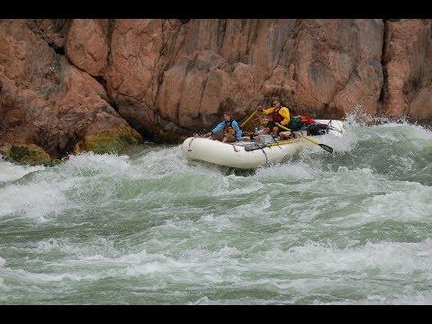 Grand Canyon Rafting - Documentary of Major Rapids (Horn Creek, Lava, Crystal)