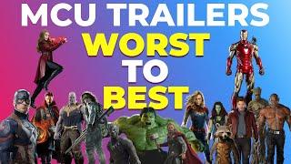 Every Marvel (MCU) Movie Trailer Ranked Worst to Best