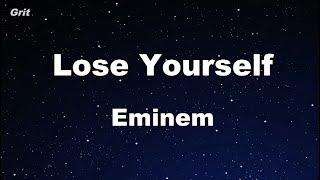 Karaoke♬ Lose Yourself - Eminem 【No Guide Melody】 Instrumental