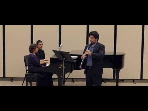 Gerald Finzi - Five Bagatelles for Clarinet and Piano I. Prelude