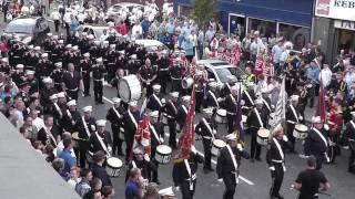 Shankill Protestant Boys FB @ Gertrude Star Flute Band 50th Anniversary Parade 2011 (2)