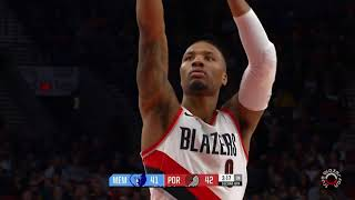 Portland Trail Blazers vs Memphis Grizzlies - Full Game Highlights - November 7, 2017