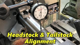 SNS 225 Part 1: Headstock & Tailstock Alignment, Starrett Wall Charts