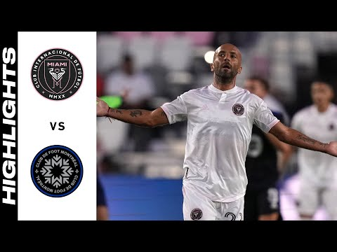 Inter Miami Montreal Goals And Highlights