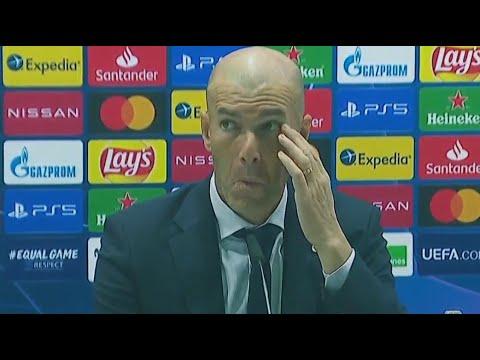РЕАКЦИЯ Зидана на поражение ШАХТЕРУ | Реал Мадрид 2:3 Шахтер