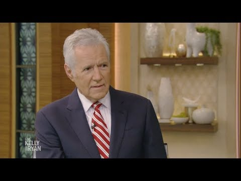 "Alex Trebek Shares What He Would Say on His Final Day at ""Jeopardy"""