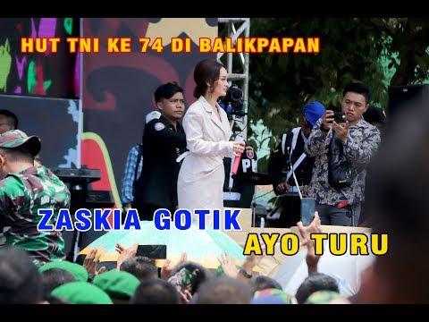 Download Zaskia Gotik - Ayo Turu - HUT TNI ke 74 Balikpapan Mp4 baru
