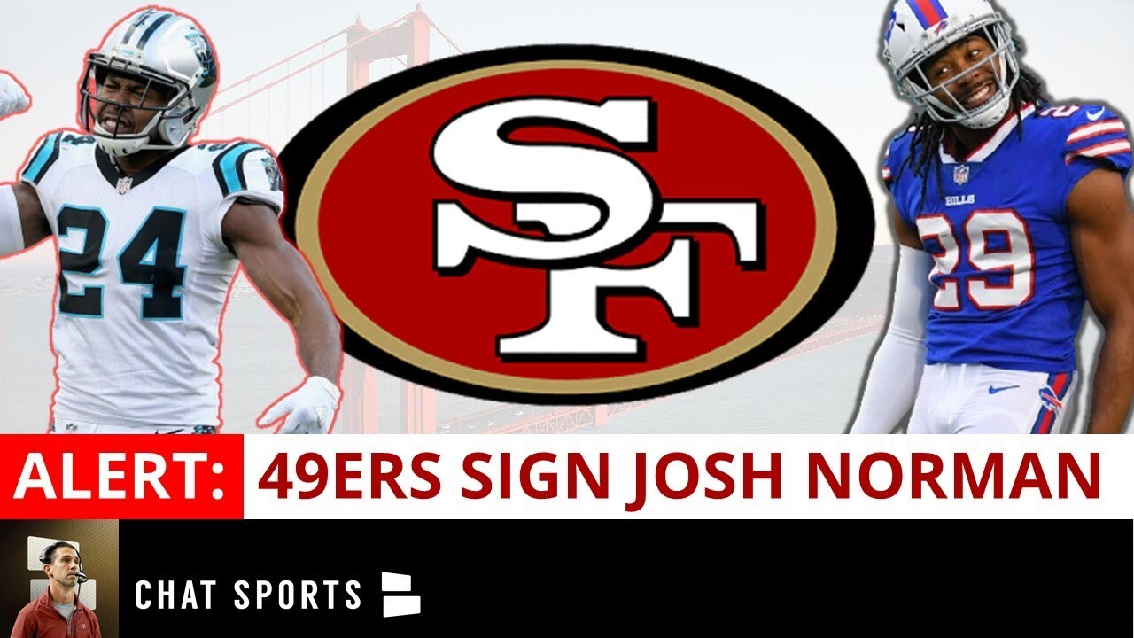 49ers Sign CB Josh Norman; Release CB Dontae Johnson