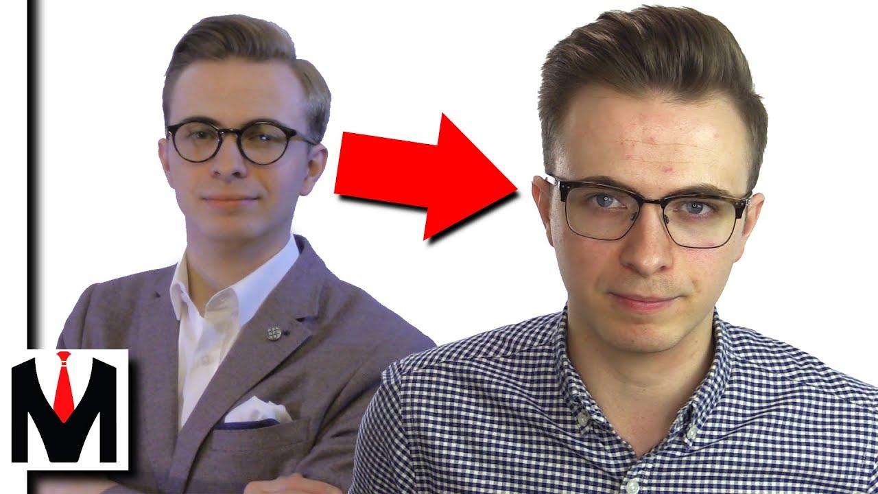 How Changing My Hairstyle & Glasses Made Me More Attractive - YouTube