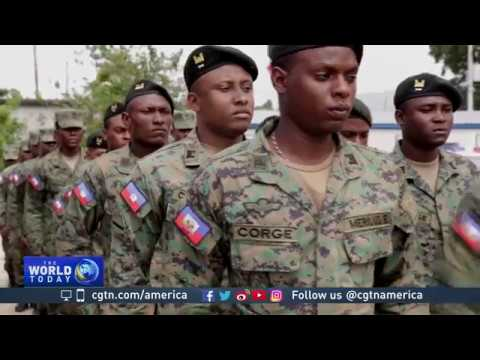 As UN peacekeepers leave, Haiti trains a new army