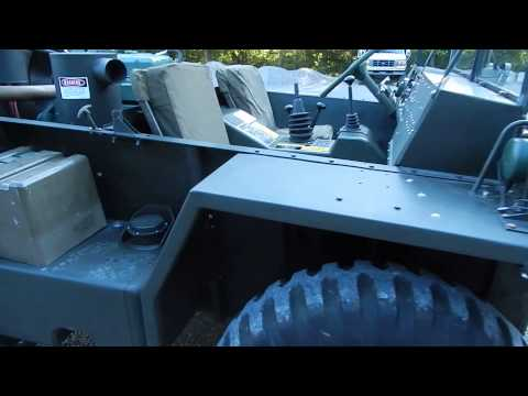 gama goat  video #1 C&C Equipment 812-336-2894 6x6  amphibious army military