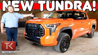 All-New 2022 Toyota Tundra Has Arrived - No More V8, Fresh Looks, New Suspension & More!