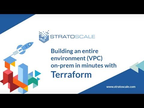 Using Terraform to build environments on-prem