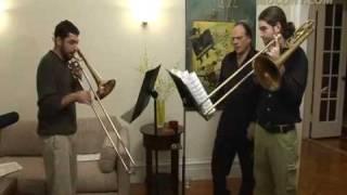 David Taylor's Trombone Duet Lesson