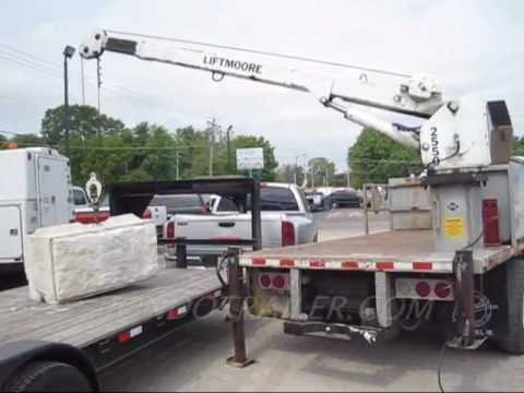 hqdefault lift moore crane lifts a 2400lb block of concrete youtube Liftmoore Pickup Truck Crane at eliteediting.co