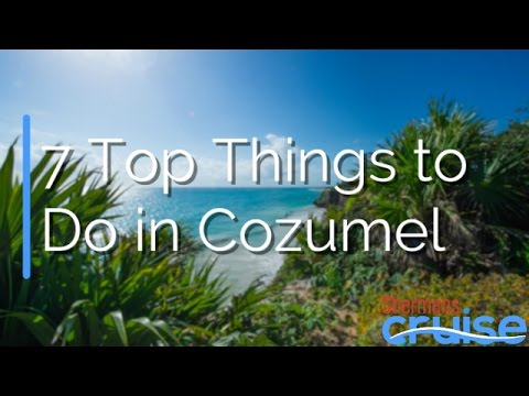 7 Top Things to Do in Cozumel
