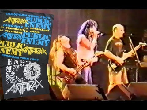 Anthrax - Düsseldorf 17.01.1992