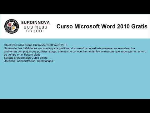 Microsoft Word Online Curso Homologado Euroinnova