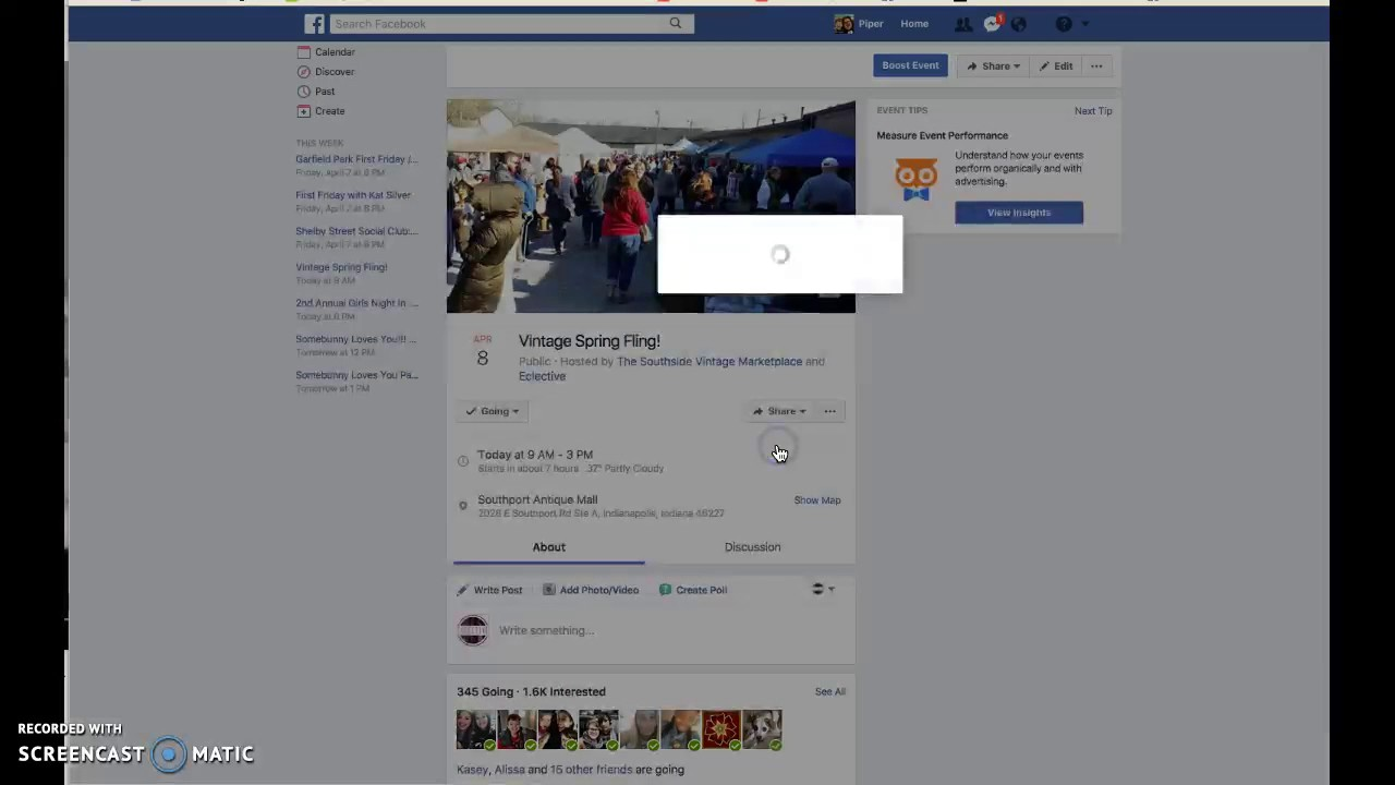 How To Invite Friends To A Facebook Event Youtube