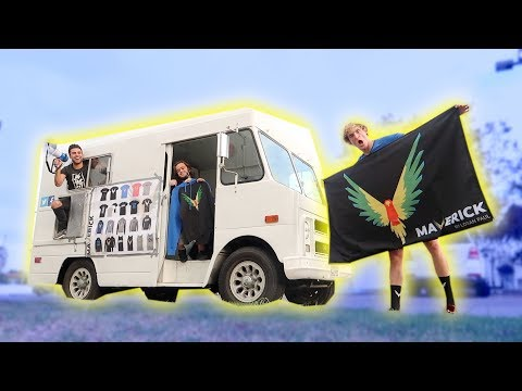 Thumbnail: OUR NEW MAVERICK ICE CREAM-MERCH-TRUCK! (pranked)