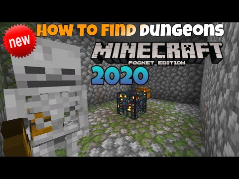 how-to-find-dungeons-in-minecraft-|-minecraft-pocket-edition-tutorial-2020-|-android/ios-|