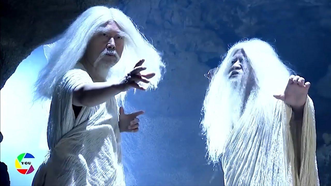 2 trưởng lão dùng tuyết đổ băng giải cứu tiên nữ khỏi miêng yêu quái | Truyền Thuyết 12 Con Giáp