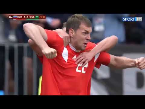 Russia vs Saudi Arabia 5-0 - All Goals & Highlights 14/06/2018