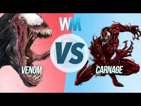 ¡VENOM vs CARNAGE!