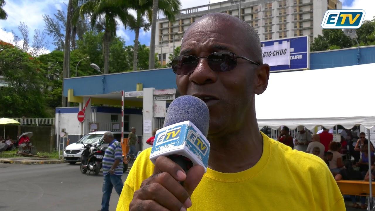 Les fortes pluies du week-end n'ont pas épargnées le CHU de Guadeloupe...