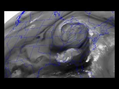 Strange Weather Radar Maps over North America!