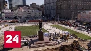 Зеленая зона и современные трамваи  Тверскую Заставу не узнать