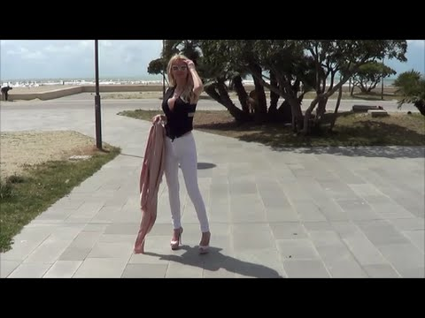 High Heels On The Beach You