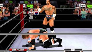 WWE Doble GTS to Triple H - CM Punk 2011 - WWE No Mercy