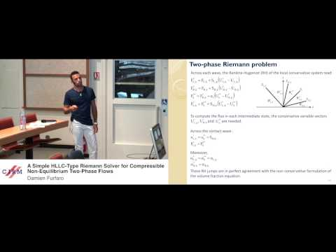 Damien Furfaro: A simple HLLC-type Riemann solver for compressible non-equilibrium two-phase flows