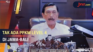 Hamdalah, Tak Ada PPKM Level 4 di Jawa dan Bali