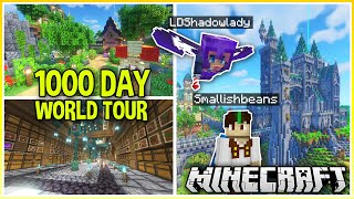 1000 Day Minecraft World Tour ft @LDShadowLady (Plus World Download)