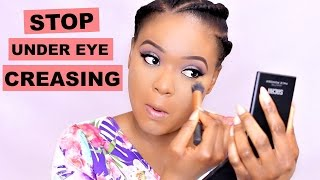 HOW TO STOP CONCEALER FROM CREASING : UNDER EYE | OMABELLETV