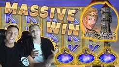 Magic Mirror Deluxe 2 BIG WIN - From CasinoDaddys Casino Games stream
